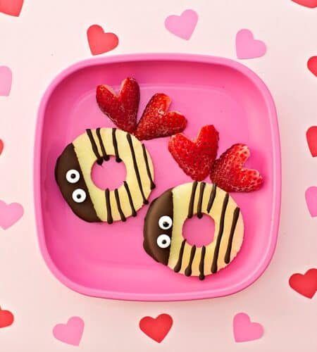 Valentine Bee Mine Fruit Snack For Kids