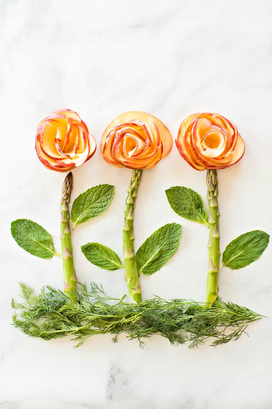 These gorgeous apple roses make a beautiful addition to any brunch and would be a wonderful surprise for Mother's Day breakfast!