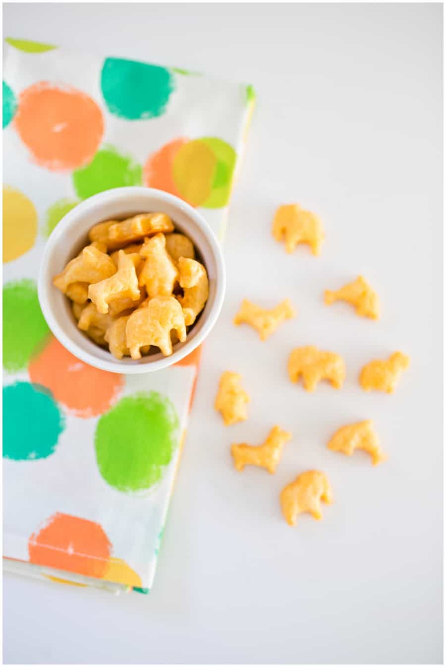 Homemade Cheese Animal Crackers