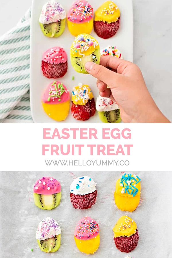 Easter Egg Fruit Treats