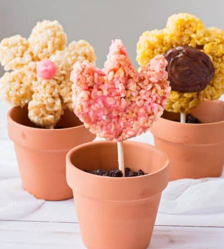 How To Make Flower Rice Krispies Treats