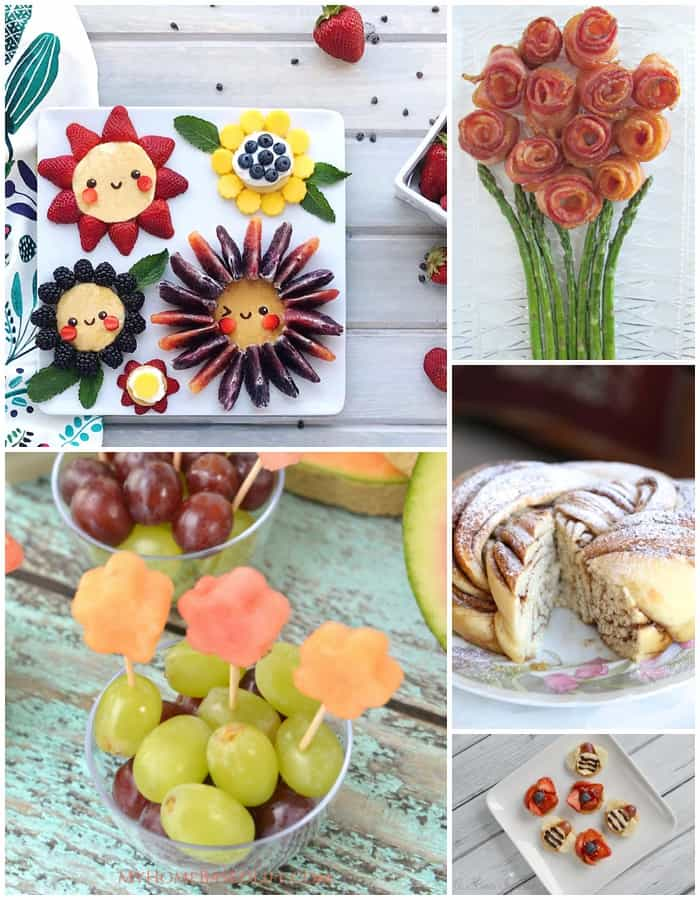 20 fun foods that look like flowers. A list of adorable flower foods that get kids excited about spring and summer snacks.