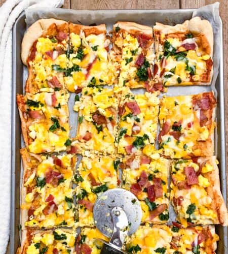 How To Make Sheet Pan Breakfast Pizza