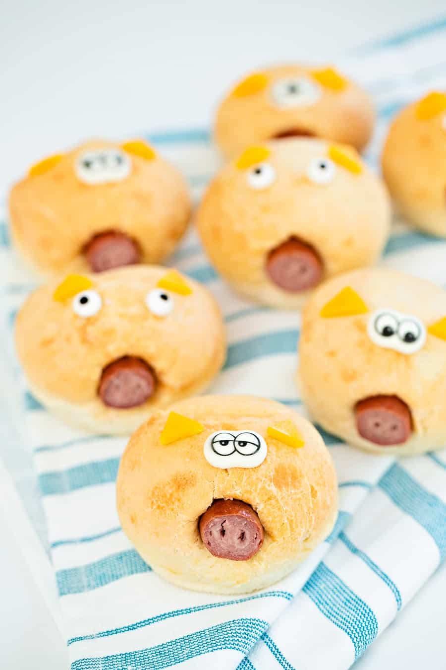 how to make easy pigs in a blanket