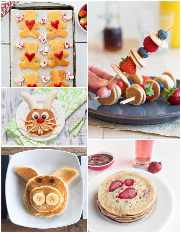 breakfast pancake ideas for kids