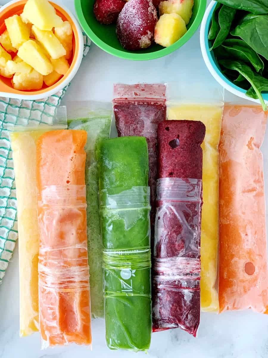How to Make Fruit and Vegetable Ice Pops