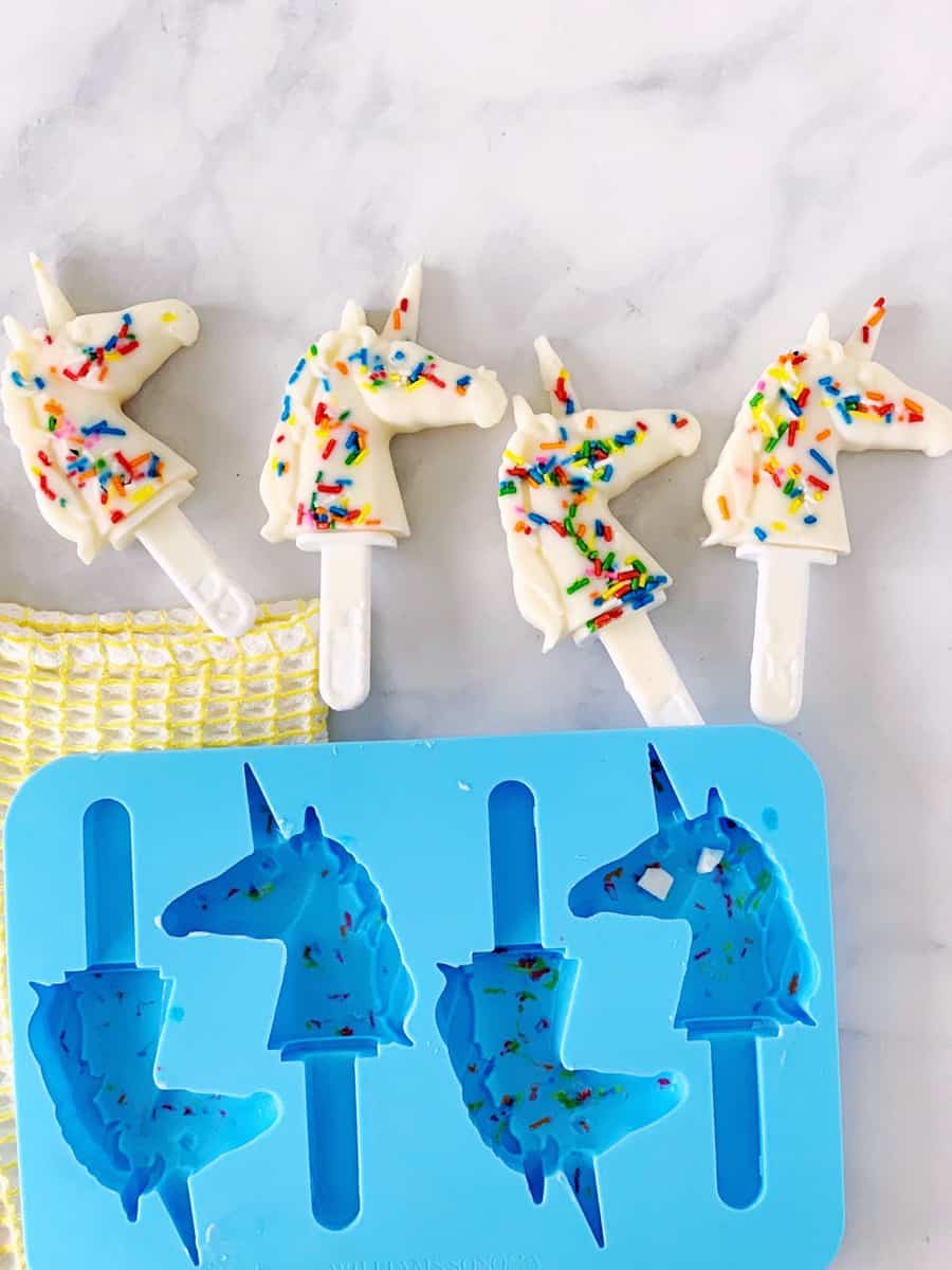 unicorn popsicle mold