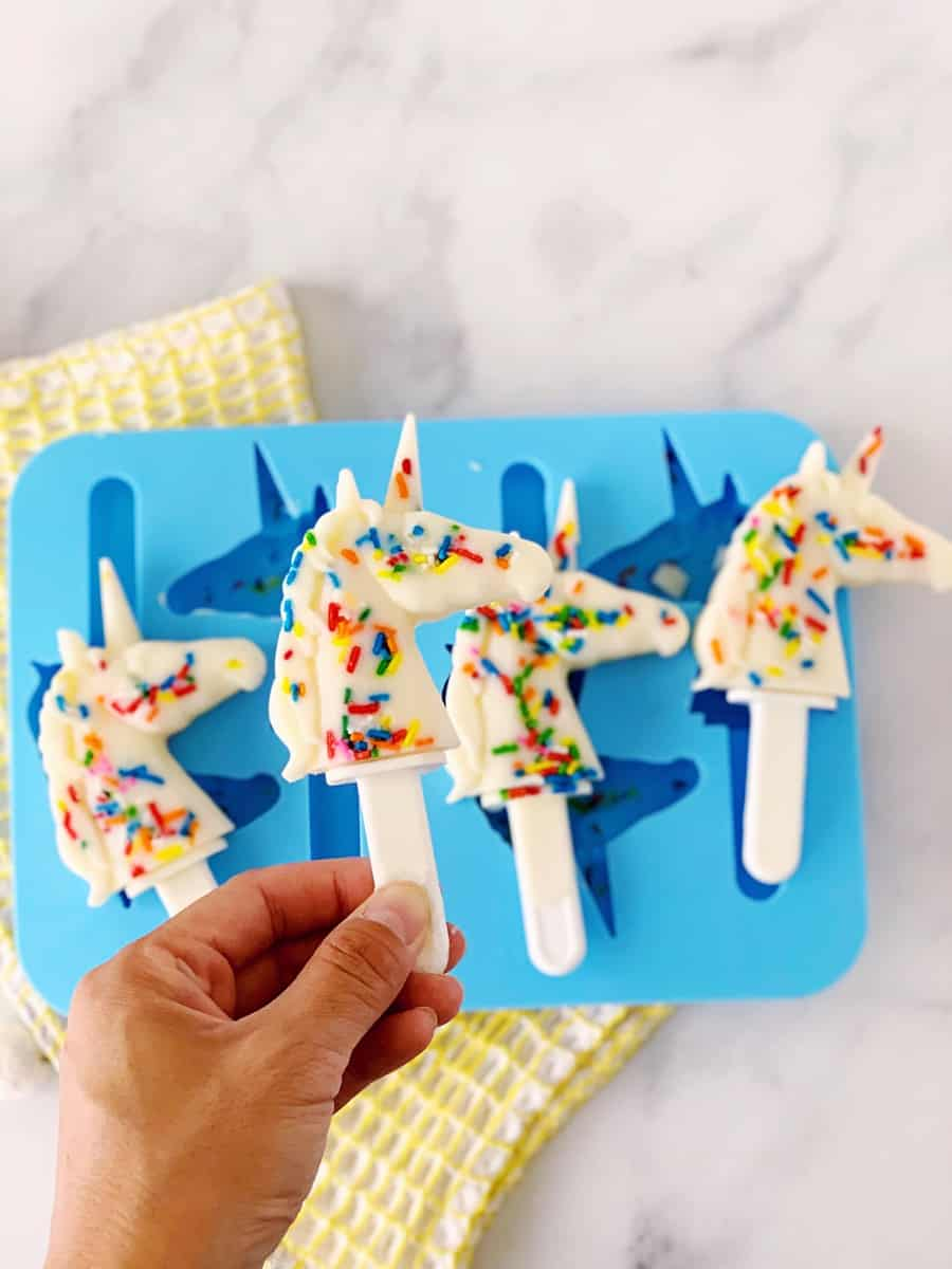 How to make unicorn popsicles