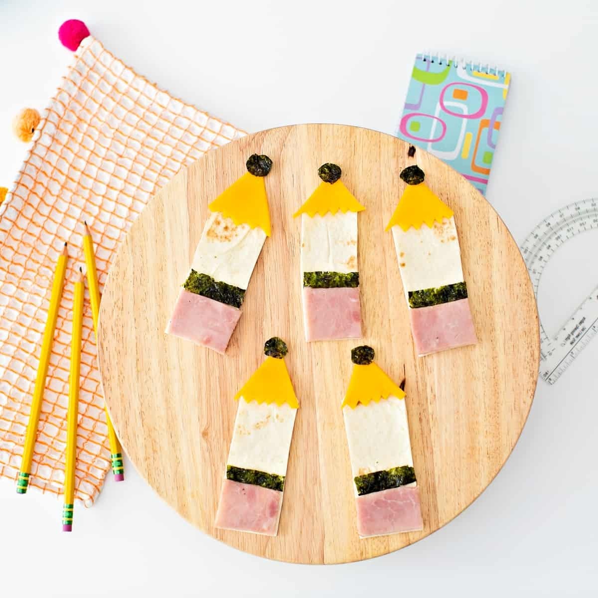Pencil Sandwich Lunch for Back To School