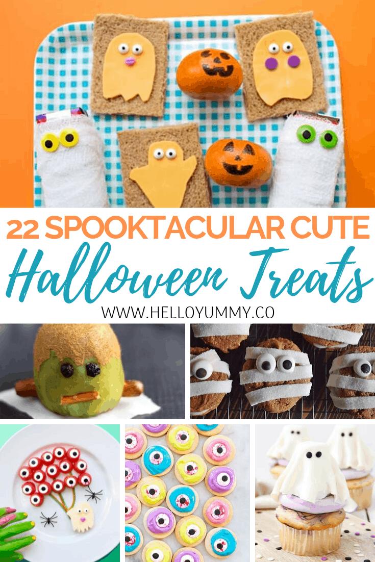 Cute Halloween Treats For Kids
