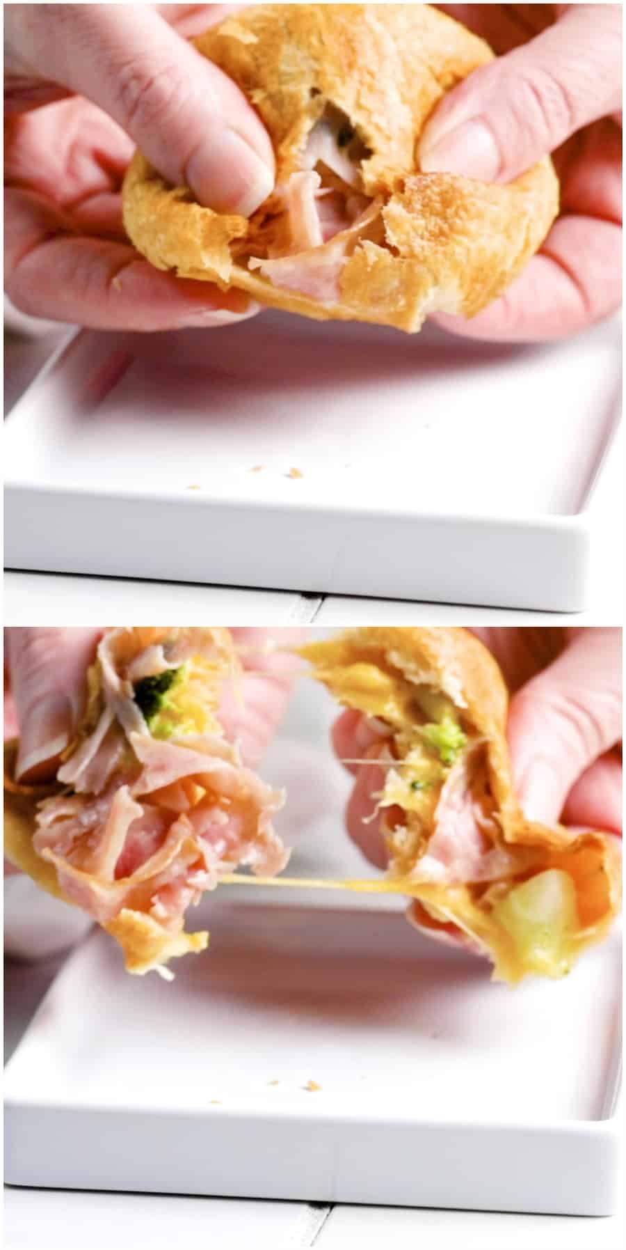 Ham and Broccoli Cheddar Cheese Bombs Recipe