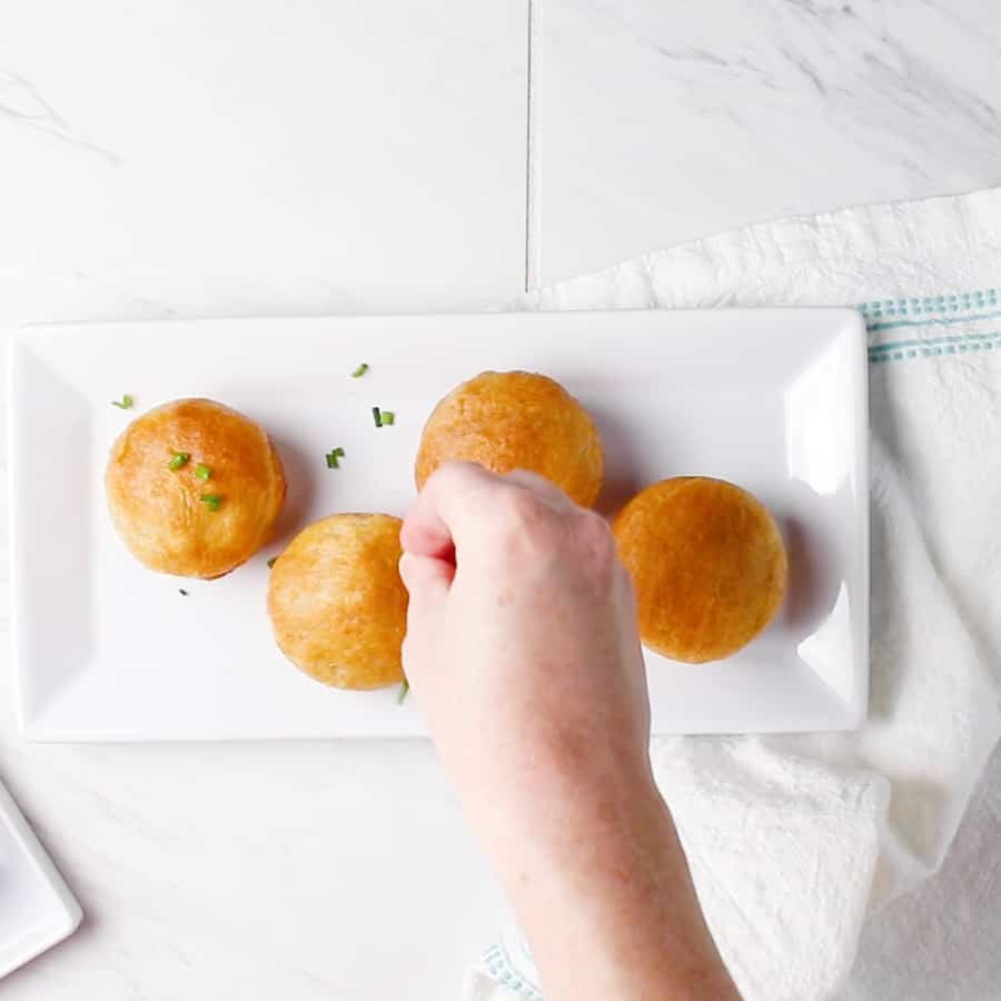 Ham and Broccoli Cheddar Cheese Bombs