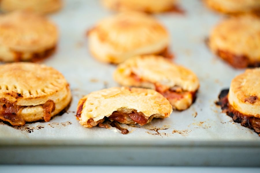 Mini Pizza Hand Pies