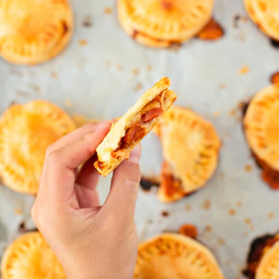 Mini Pizza Hand Pies - easy kids dinner