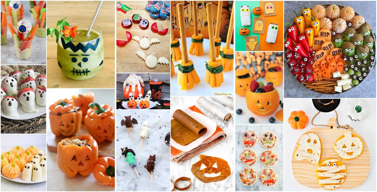healthy halloween treats kids