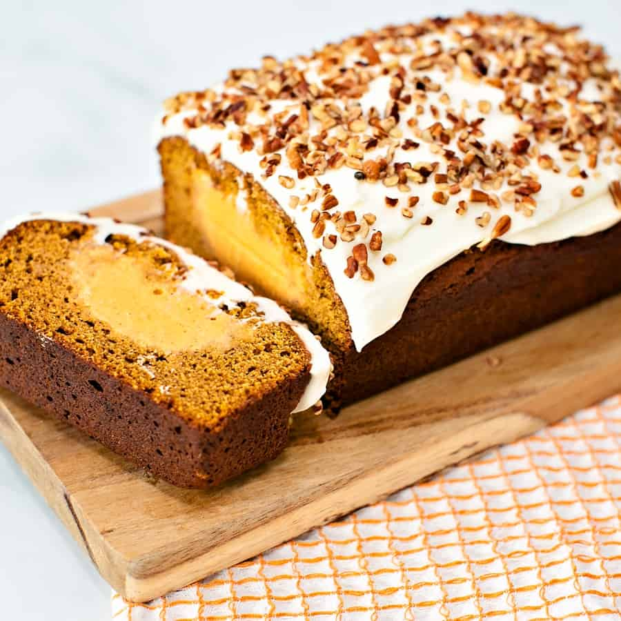 Easy Pumpkin Ice Cream Cake Recipe - Fall Dessert