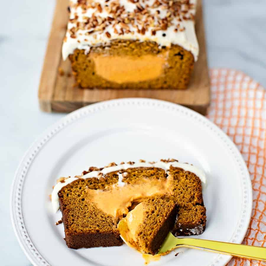 Easy Pumpkin Ice Cream Cake Recipe