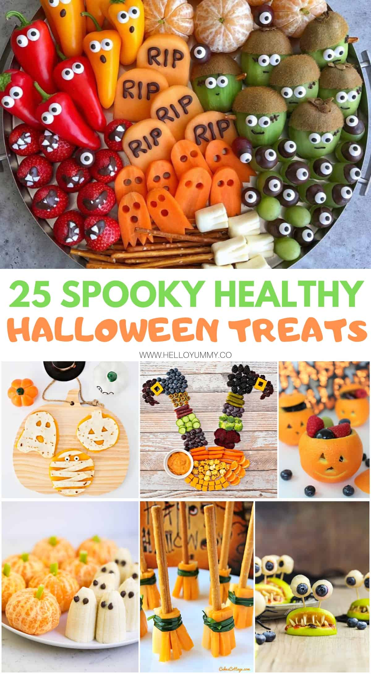 healthy Halloween Treats and snacks for kids