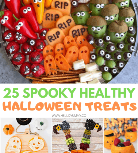 25 Spooky Healthy Halloween Treats for Kids