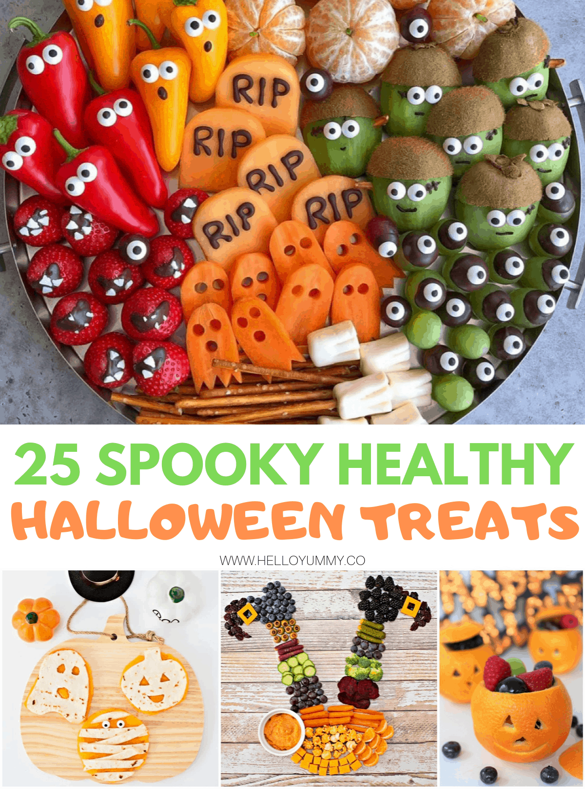 Healthy Halloween Snacks for Kids – 25 Spooky Holiday Treats