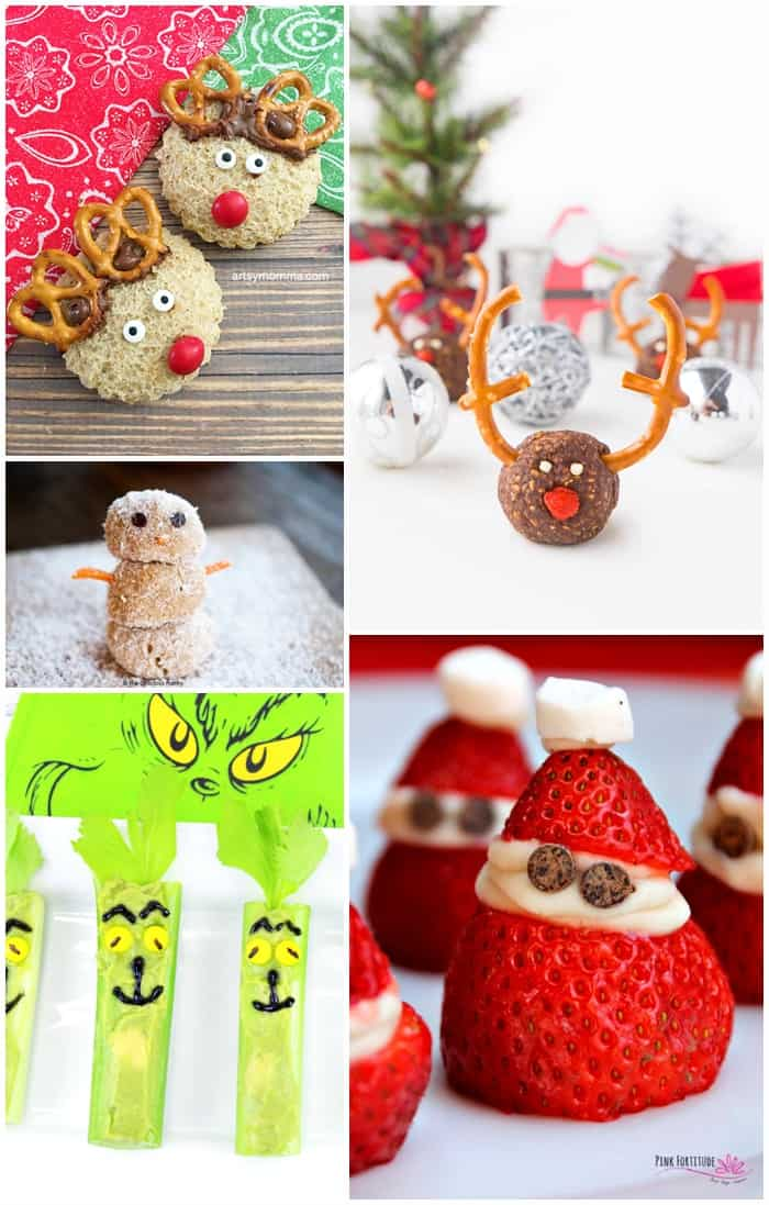 Cute Healthy Christmas Treats Kids