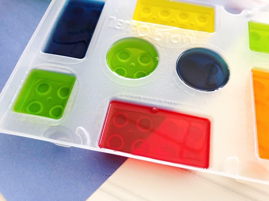 Jello LEGO treats for kids