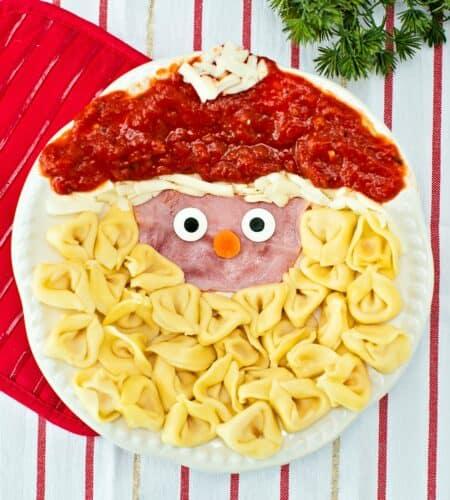 Santa Pasta Christmas Dinner