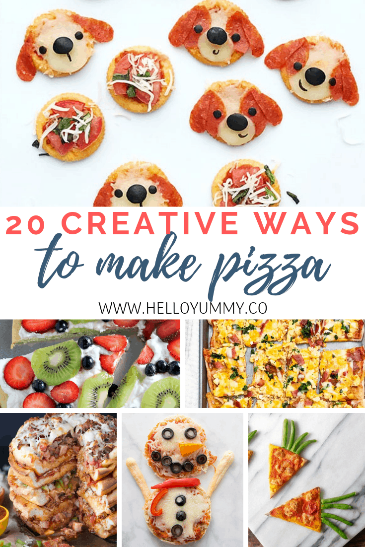 20 Creative Ways to Make Pizza for kids