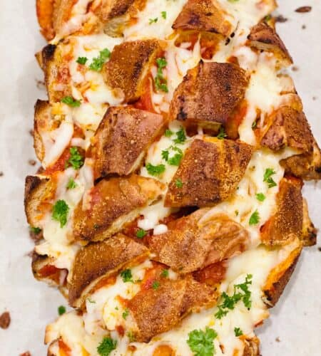 Chicken Parmesan Pull-Apart Bread