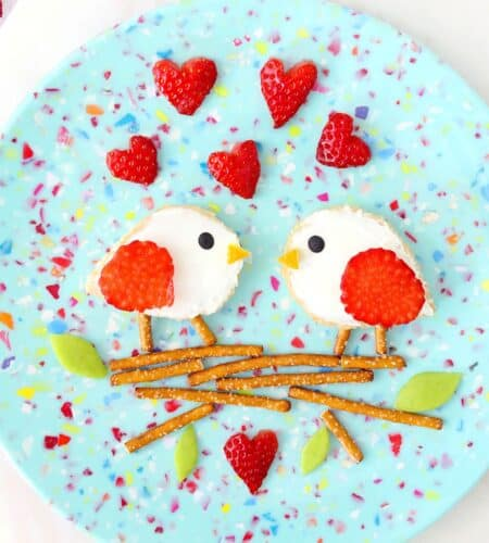 Love Birds Valentine Toast