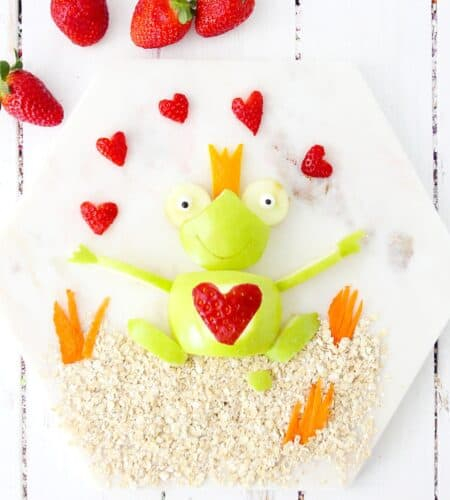 Valentine Apple Frog