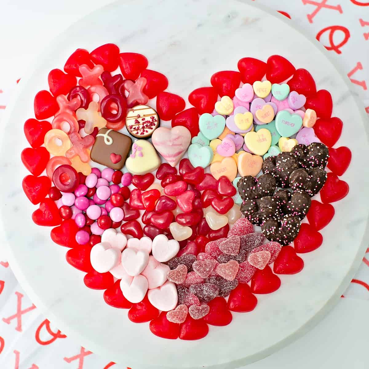 Valentine Candy Board