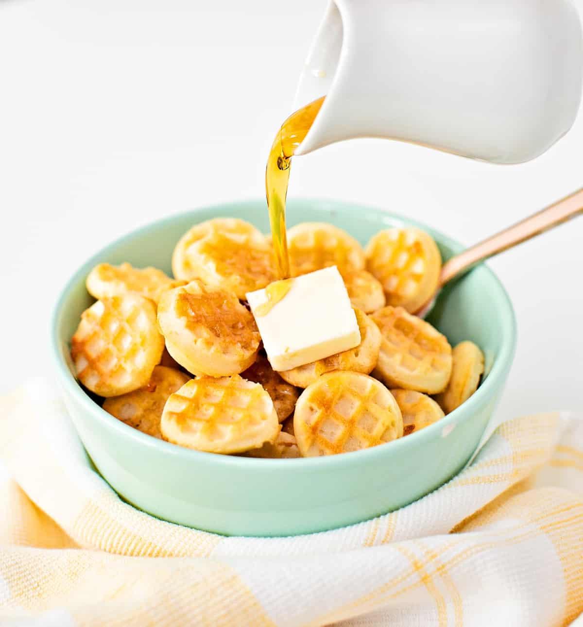 Waffle Pancake Cereal