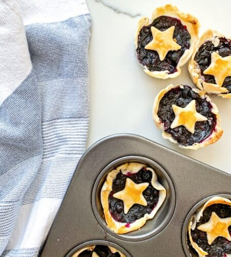 Mini Berry Star Pies