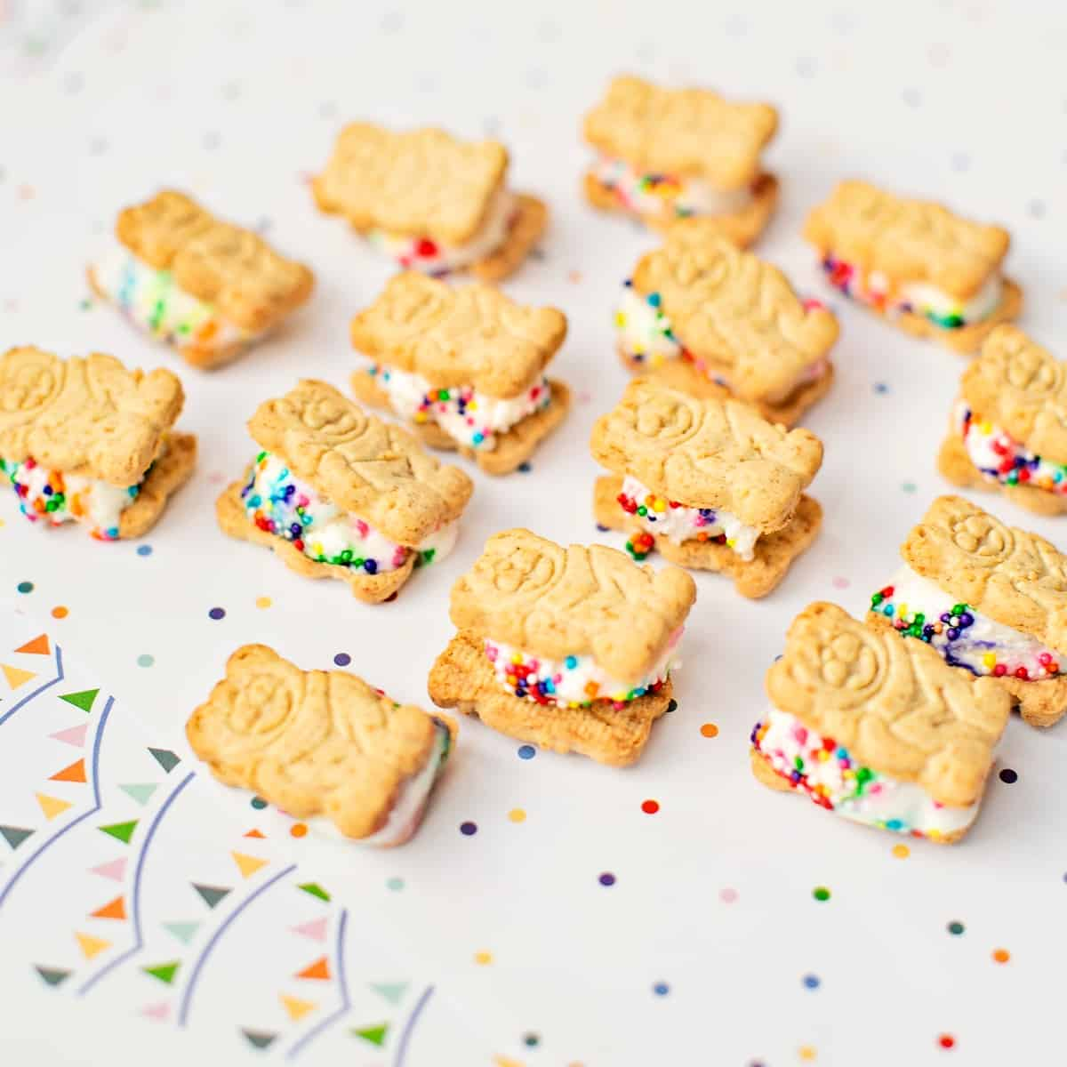 Teddy Bear Graham Ice Cream Sandwiches