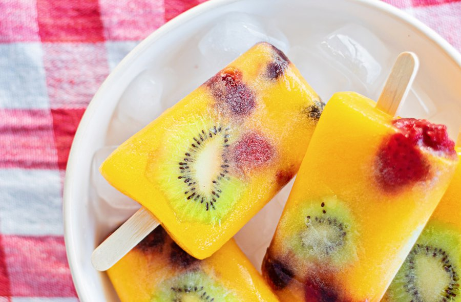 fresh fruit mango popsicle recipe