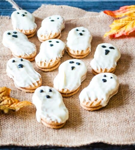 Nutter Butter Ghost Cookies
