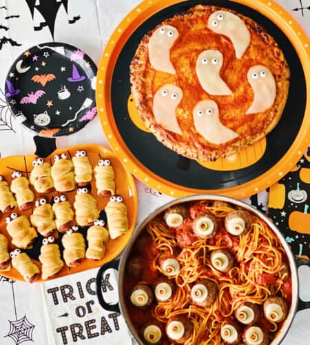 3 Easy Halloween Dinners for Kids
