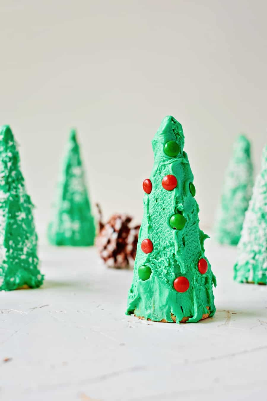Ice Cream Cone Christmas Trees 0 Cute Christmas Treat For Kids