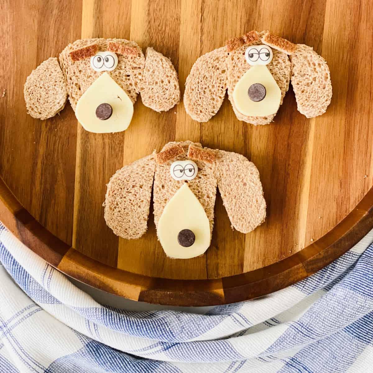 Puppy Dog Food Art