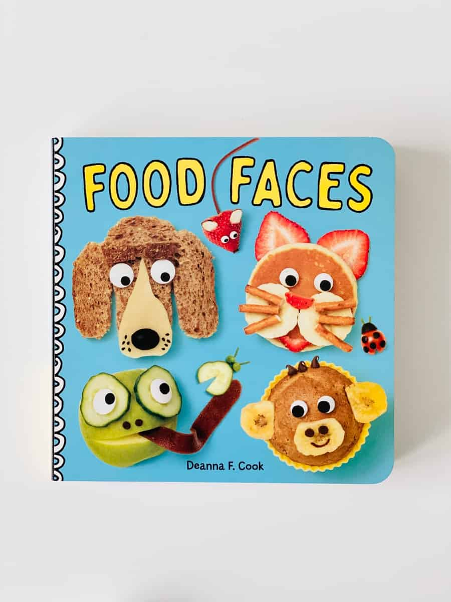Food Faces Board Book by Deanna F. Cooks
