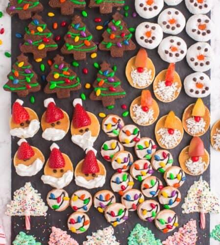 Christmas Charcuterie Dessert Board