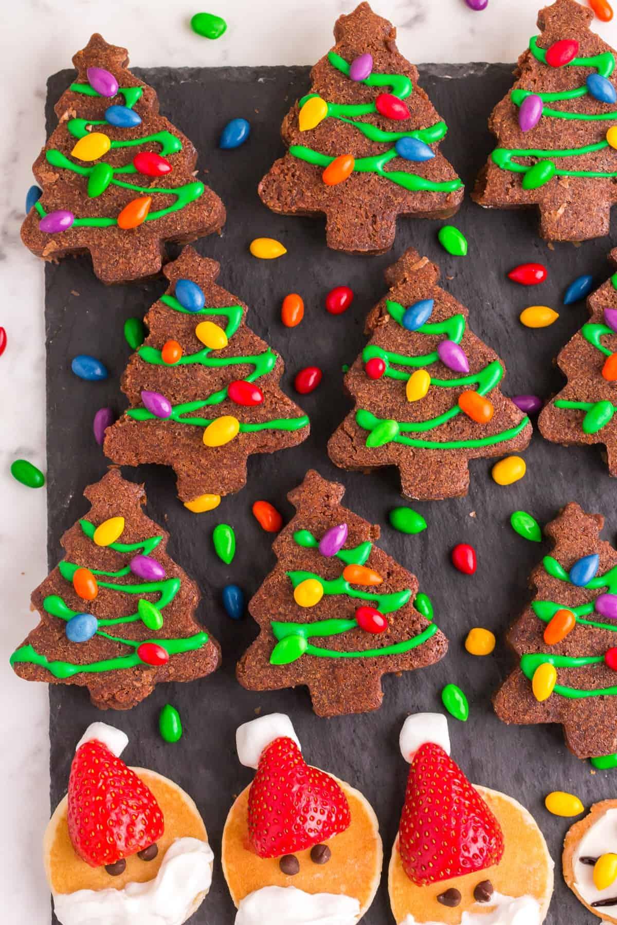 brownie christmas trees