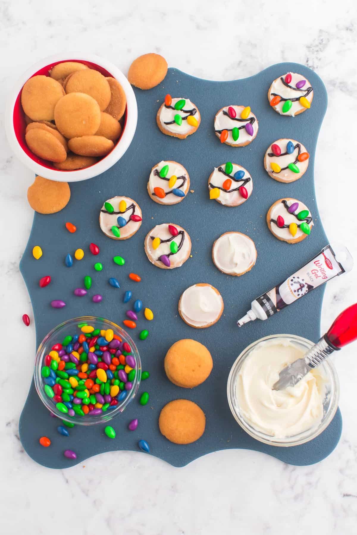 vanilla wafer light cookies