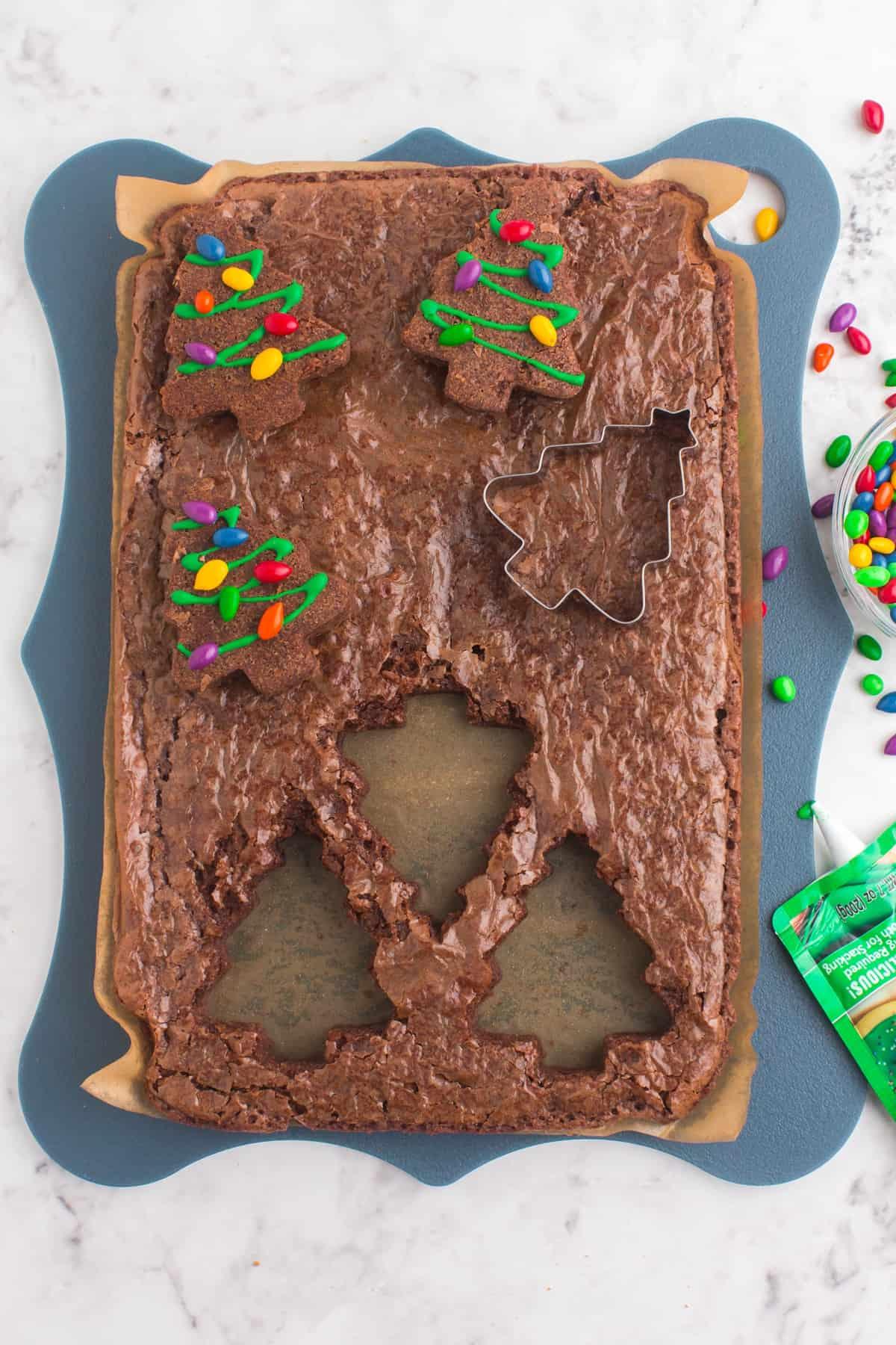 christmas brownie recipe