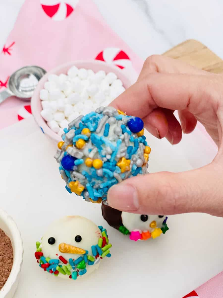 Sprinkles Hot Chocolate Bombs