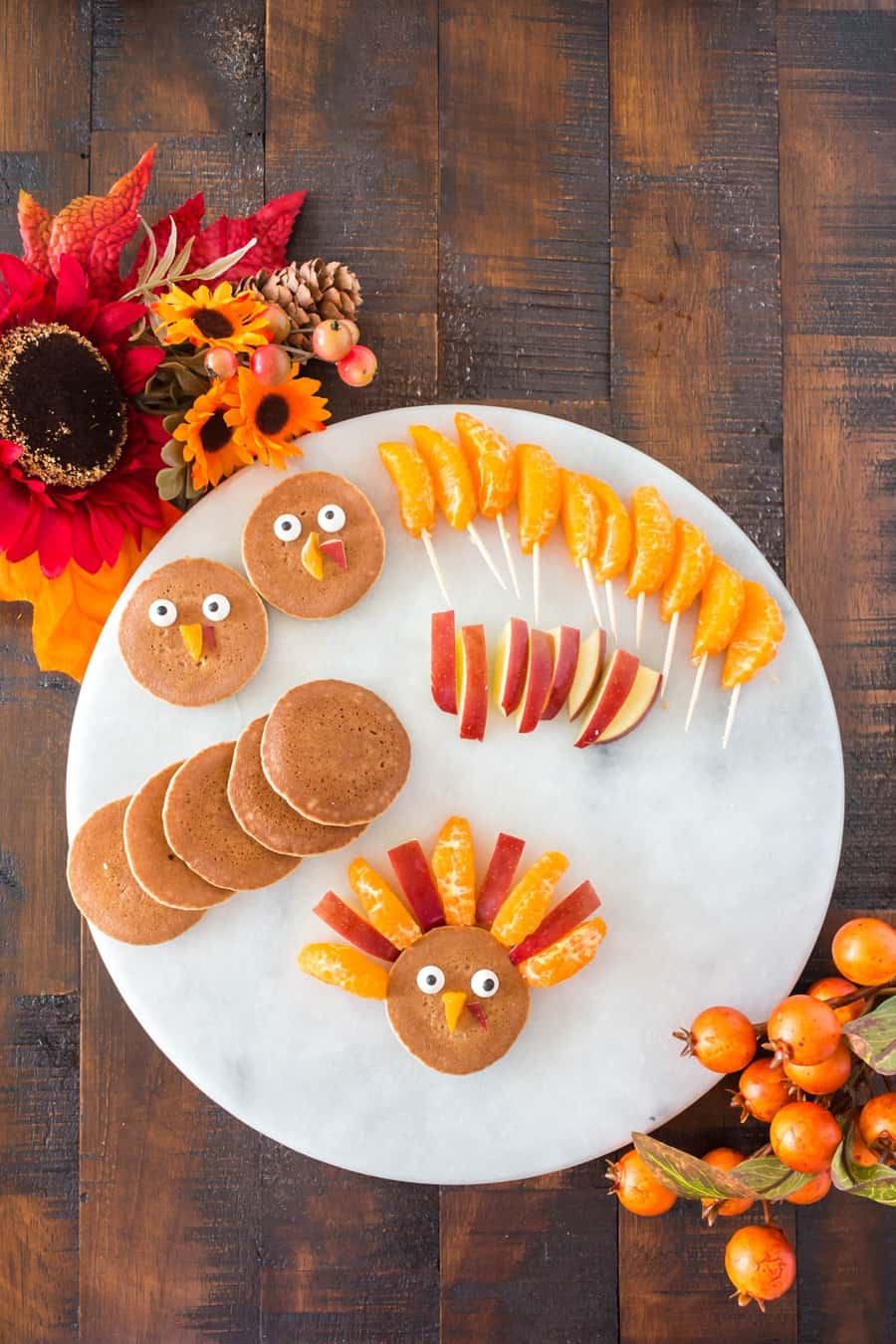 Turkey Thanksgiving breakfast for kids