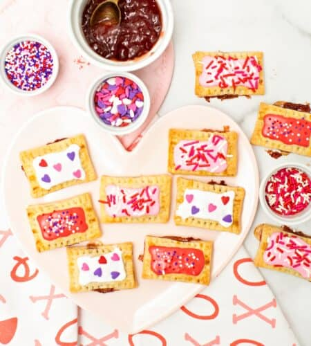 Mini Valentine Pop Tarts