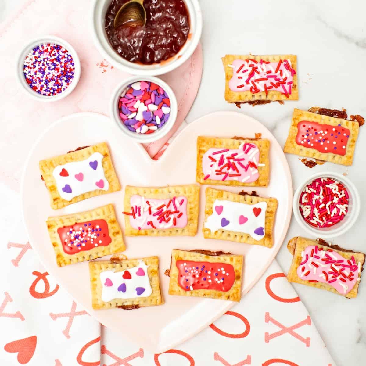 Mini Valentine Pop Tarts