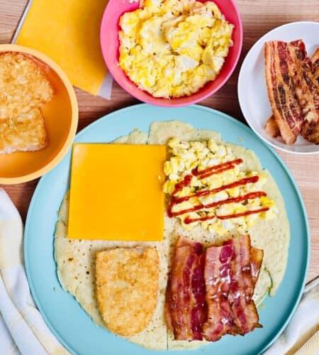 TikTok Breakfast Wrap Hack Made With Pancakes